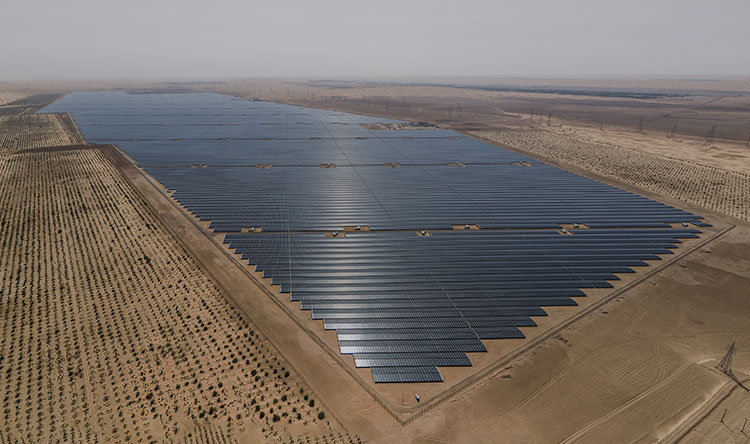 Utility-Scale Solar EPC Project - 1177 MWp, Abu Dhabi