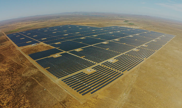 Utility-Scale Solar Project - 90 MWp, South Africa
