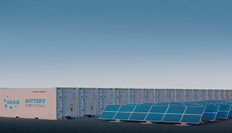 Solar Power Plant and Energy Storage